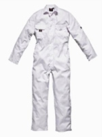 Hardwearing white boilersuit for that authentic paddock look! (S to XXL)