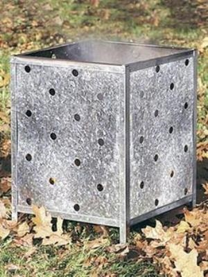 square flat-pack incinerator