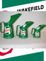 castrol oil jug set of 3