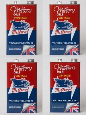 a mixed case of 2 x millerol m30 and 2 x millerol m40 (4 x 5 litres)