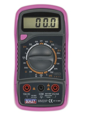 sealey digital multimeter