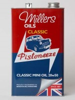 An engine oil for Minis and other combined engine / gearbox applications (5 litres and 4 x 5 litres)