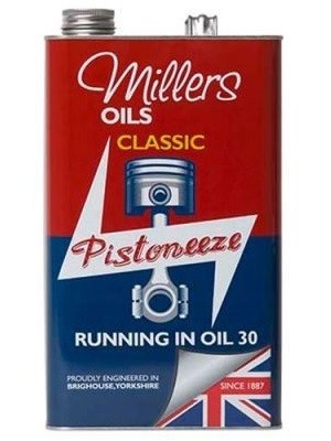 millers classic running in oil 30