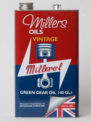 Non EP formulation [GL1] gear oil specifically for vintage applications (1 and 5 litres)