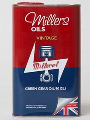 a non ep formulation gear oil specifically for vintage applications (1 litre, 5 litre)