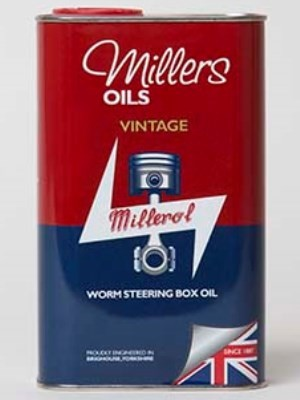 High viscosity oil for steering boxes, originally blended for Rolls Royce (1 litre)