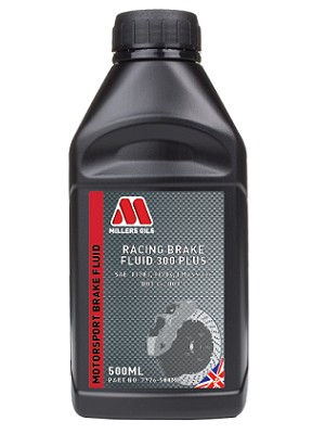 racing brake fluid 300 plus has a dry boiling point of above 310°c
