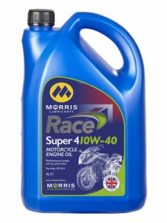 A premium quality semi-sythetic motorcycle oil suitable for modern engines and wet clutches (1 and 4 litre)