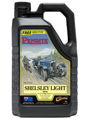 Engine oil for vehicles originally specifying a Light Grade Oil or a SAE 20 or 30