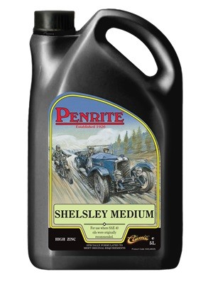 Engine oil for vehicles originally specifying a Medium Grade Oil or a SAE 40 (5 Litre, 4 x 5 litres, 20 litre drum)