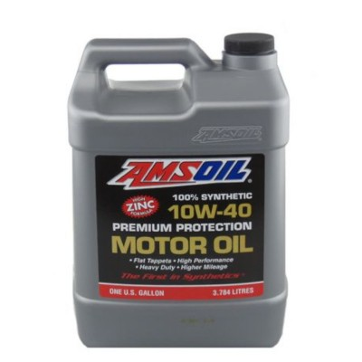 amsoil synthetic 10w-40 motor oil