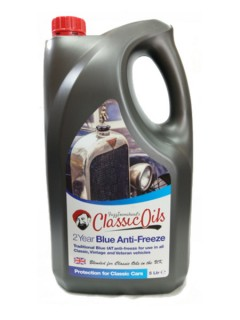 classic oils 2 year blue anti-freeze & coolant