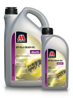 extreme pressure transmission oil to api gl4 for classic transmissions (1 and 5 litres)