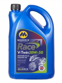 A robust mineral for some motorcycle applications, including those with wet clutches (1 and 5 litre)