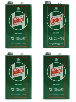 Case of Castrol XL 20w/50 (4x1 gal) - only £120
