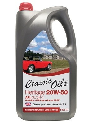Original Heritage 20W50 from £16.50 per 5L
