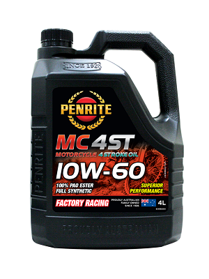 Fully synthetic 4-stroke engine oil for 10W60, 10W50 & 15W50