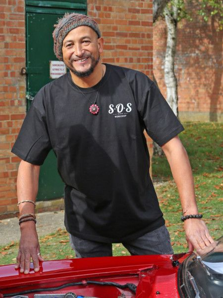 Black SOS Workshop T-Shirt