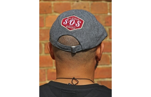 SOS Workshop flat cap