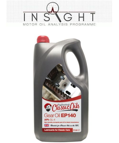 Insight & Classic Oils Gear Oil EP140