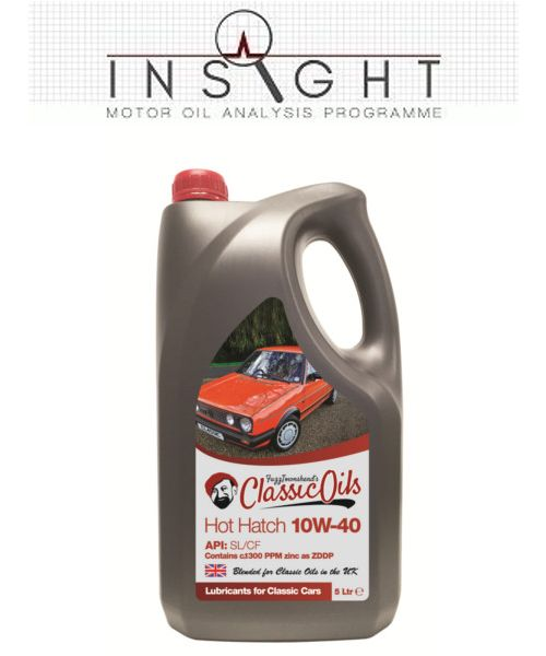 Insight & Classic Oils Hot Hatch 10W-40