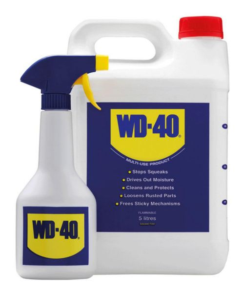 WD-40 5 litres with Applicator Spray Bottle